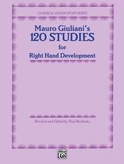 120 Studies for Right Hand Development
