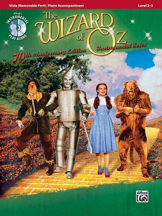 オズの魔法使い・ソロ曲集(ヴィオラ+ピアノ)【The Wizard of Oz Instrumental Solos】
