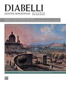 Diabelli: 11 Sonatinas, Opp. 151, 168