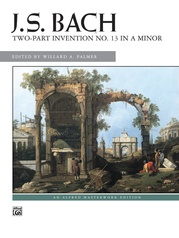 2-Part Invention No. 13 in A Minor