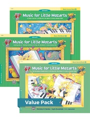 Music for Little Mozarts Level 2 2012 (Value Pack)