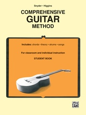 Comprehensive Guitar Method (Student Book)