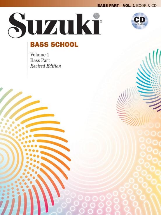 Suzuki Bass School Bass Part & CD, Volume 1 (Revised)