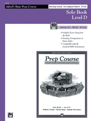 Alfred's Basic Piano Prep Course: GM Disk for Solo Book D