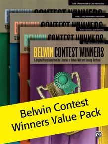 Belwin Contest Winners, Books 1-4 (Value Pack)