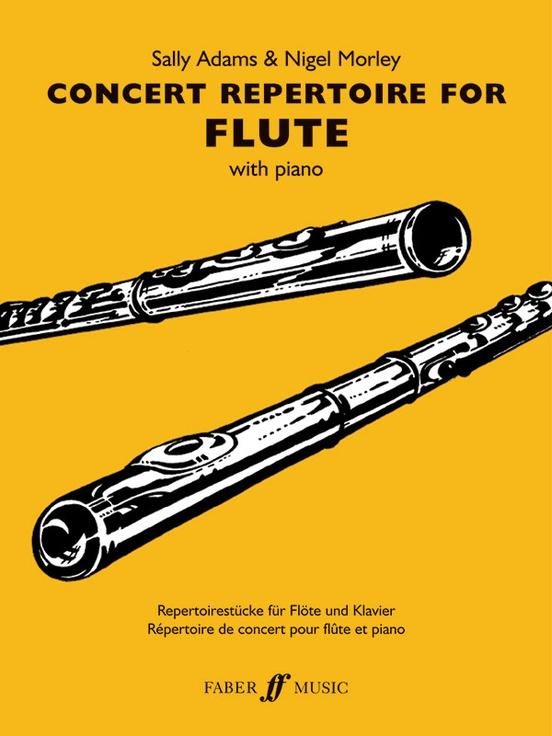 Concert Repertoire for Flute