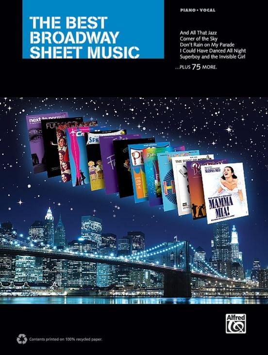 The Best Broadway Sheet Music
