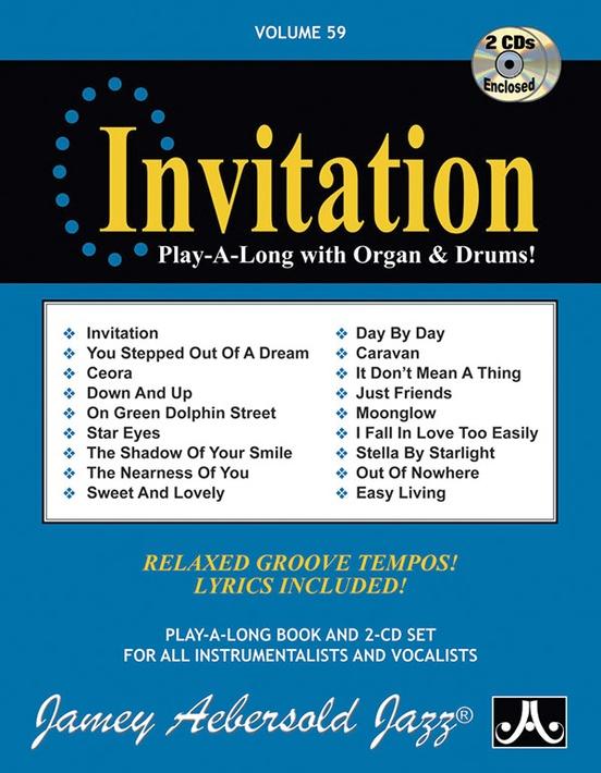 Jamey Aebersold Jazz, Volume 59: Invitation