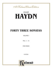 Forty Three Sonatas, Volume I (Nos. 1-11)