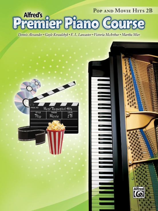 Premier Piano Course, Pop and Movie Hits 2B