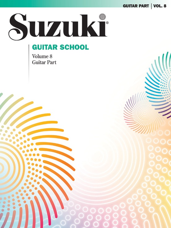 Suzuki Guitar School Guitar Part, Volume 8
