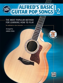 Alfred's Basic Guitar Pop Songs 1 & 2