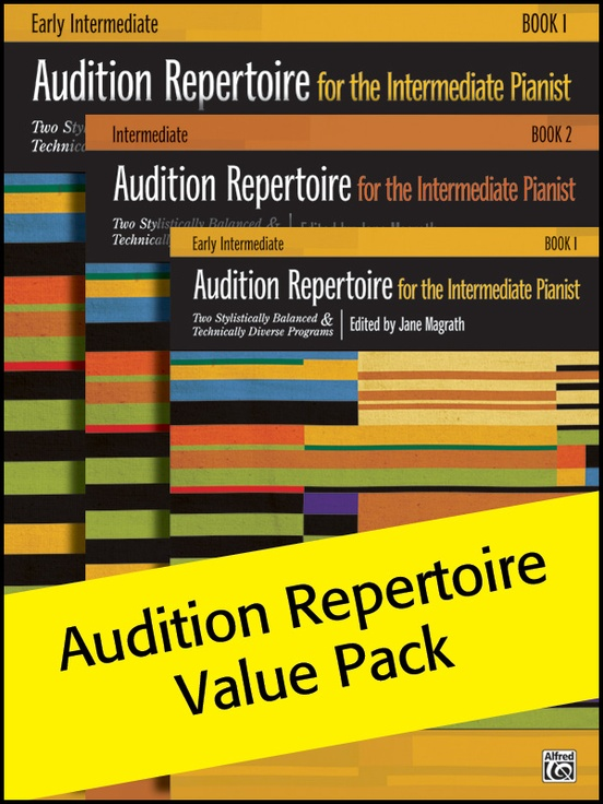 Audition Repertoire 1-3 (Value Pack)