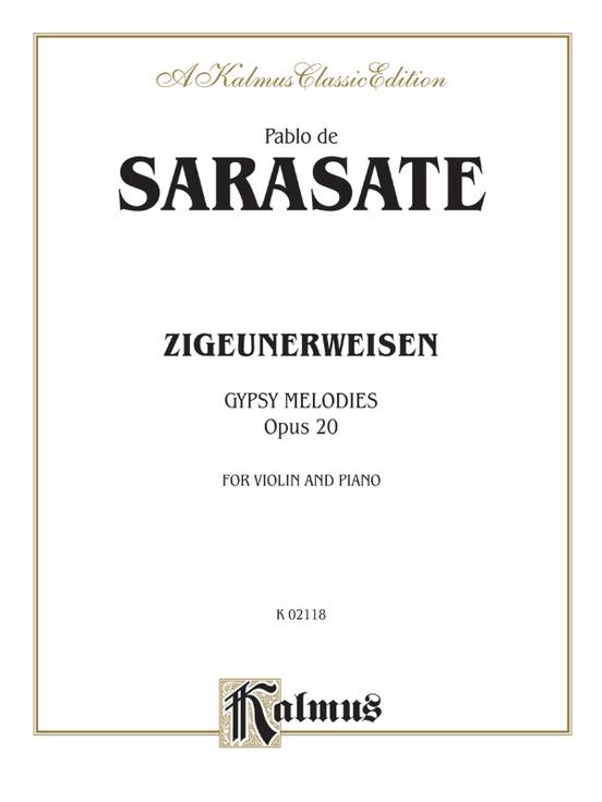 Zigeunerweisen (Gypsy Melodies), Opus 20