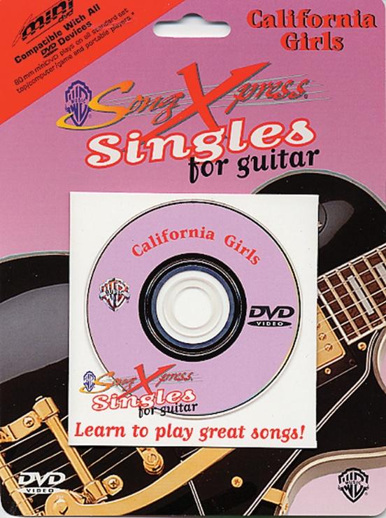 SongXpress® Singles for Guitar: California Girls