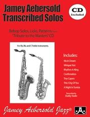 Jamey Aebersold Transcribed Solos