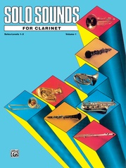 Solo Sounds for Clarinet, Levels 1-3