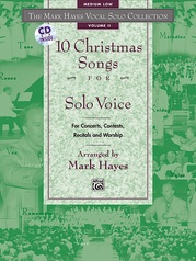 The Mark Hayes Vocal Solo Collection: 10 Christmas Songs for Solo Voice