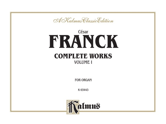 Organ Works, Volume I