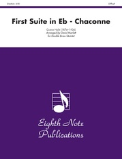 First Suite in E-flat (Chaconne)