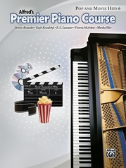 Premier Piano Course, Pop and Movie Hits 6
