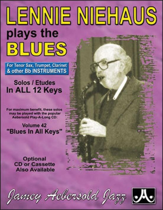 レニー・ニーハウス・プレイ・ブルース(クラリネット)【Lennie Niehaus Plays the Blues】