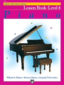 Alfred's Basic Piano Library: Lesson Book 4