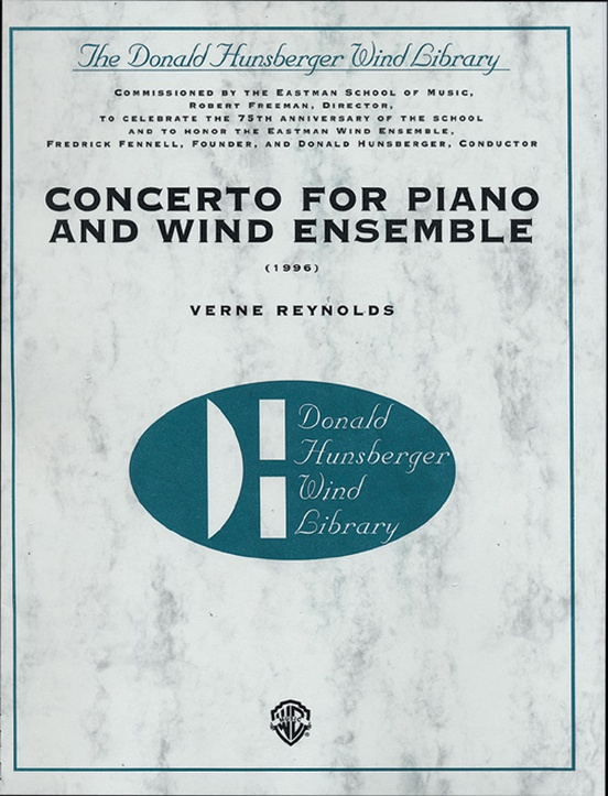 Concerto for Piano and Wind Ensemble (1966): Concert Band Conductor