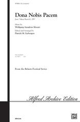 Dona Nobis Pacem (from Missa Brevis, K. 259)