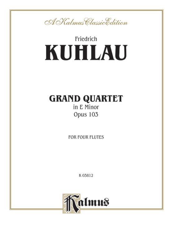 Grand Quartet in E Minor, Opus 103