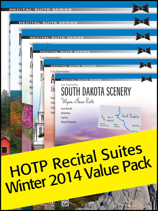 Recital Suites Winter 2014 (Value Pack)