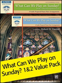 What Can We Play on Sunday? Book 1-2 (Value Pack)