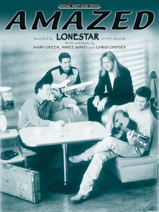 Amazed Pianovocalchords Sheet Lonestar