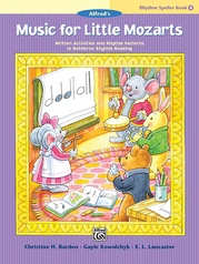 Music for Little Mozarts: Rhythm Speller, Book 4