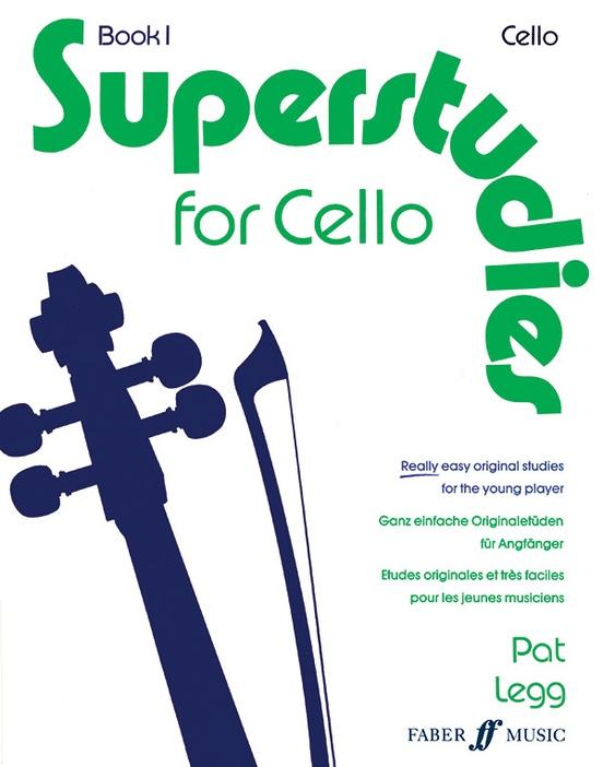 Superstudies for Cello, Book 1