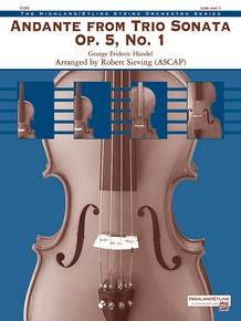 Andante from <i>Trio Sonata</i> Opus 5, No. 1