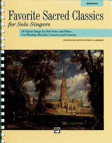 Favorite Sacred Classics for Solo Singers
