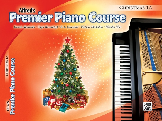 Premier Piano Course, Christmas 1A