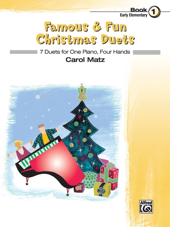 Famous & Fun Christmas Duets, Book 1