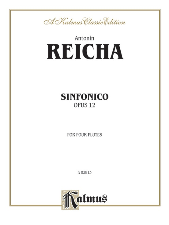 Sinfonica for Four Flutes, Opus 12