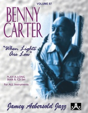 Jamey Aebersold Jazz, Volume 87: Benny Carter
