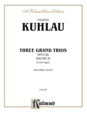 Three Grand Trios, Opus 86: Volume III (A-flat Major)