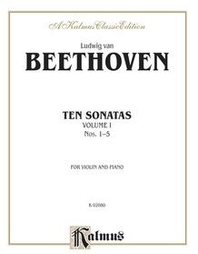 Ten Violin Sonatas, Volume I (Nos. 1-5)