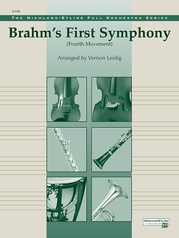 Brahms's 1st Symphony, 4th Movement
