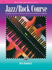 Alfred's Basic Jazz/Rock Course: Lesson Book, Level 4