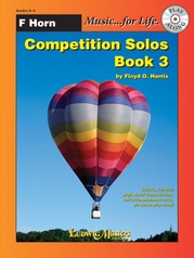 Competition Solos, Book 3 Horn