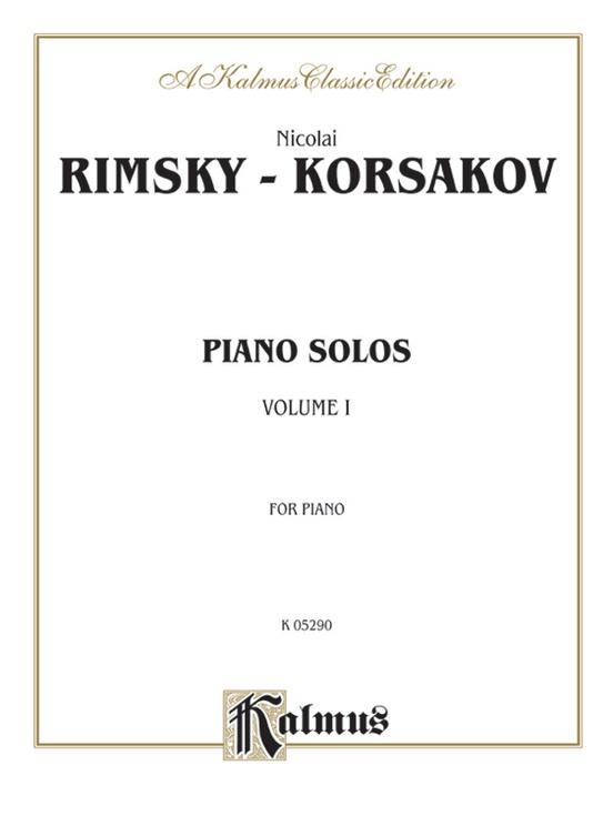 Piano Solos, Volume I