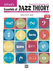Alfred's Essentials of Jazz Theory, Teacher's Answer Key