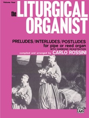 The Liturgical Organist, Volume 4