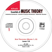 Alfred's Essentials of Music Theory: Ear Training CD 1 (for Books 1 & 2)